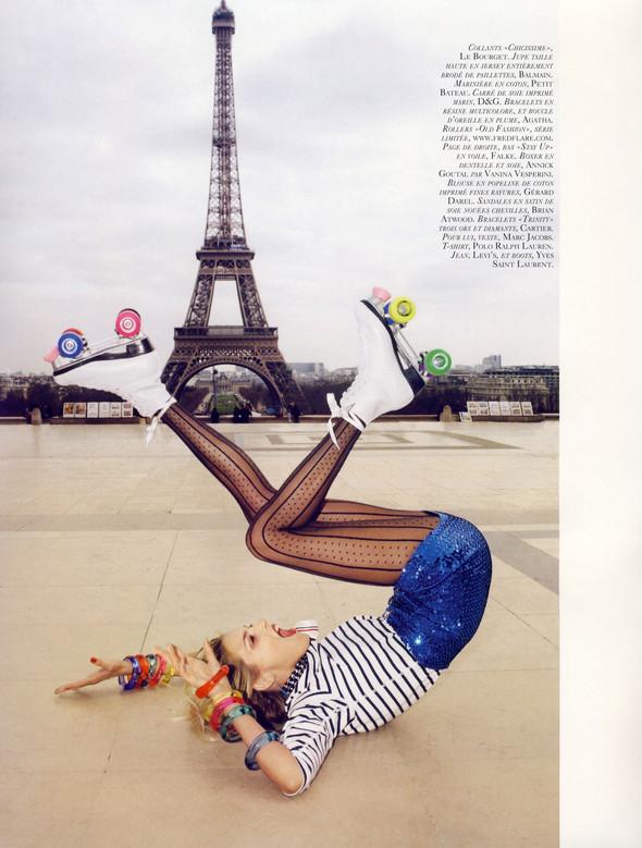"""""""TOUTES JAMBES"""" Vogue Paris JuneJuly 2009. Изображение № 3."""