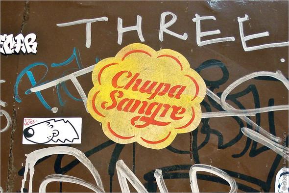 Стрит-арт и граффити Барселоны, Испания. Изображение № 44.