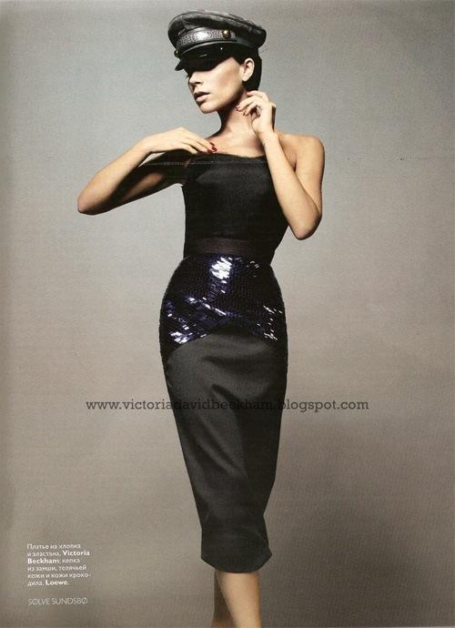 Posh Spice вновом Vogue (Россия). Изображение № 2.
