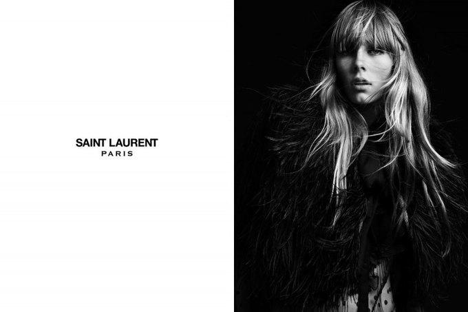 Бек и Эди Кэмпбелл снялись в кампании Saint Laurent. Изображение № 13.