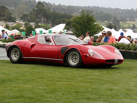 Alfa Romeo 33 Stradale. Изображение № 7.