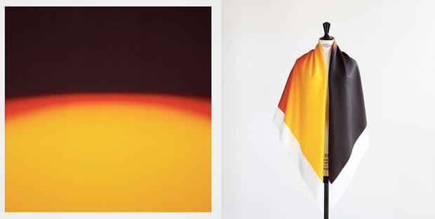 Hermes выпустили платки с полароидными фото. Изображение № 6.