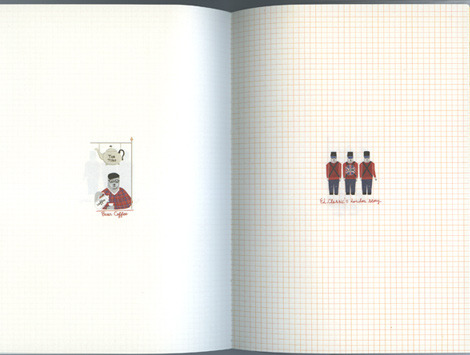 Красивые ежедневники для любителей путешествий и лондономанов.. Изображение № 15.