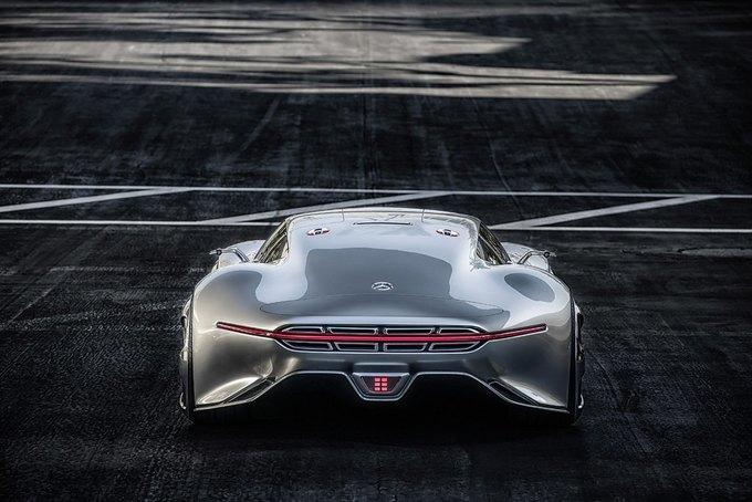 Mercedes-Benz разработала концепт спорткара для новой части Gran Turismo. Изображение № 8.