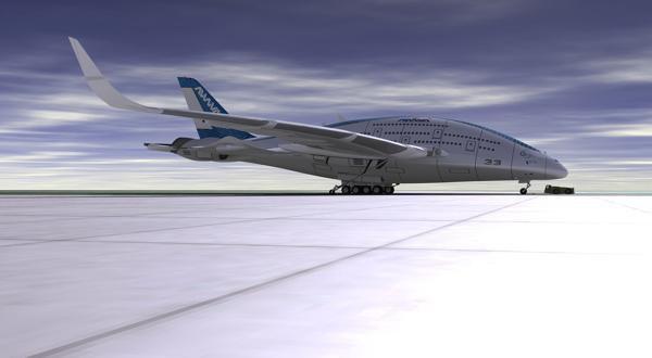 Дизайнер показал проект самолёта будущего. Изображение № 2.