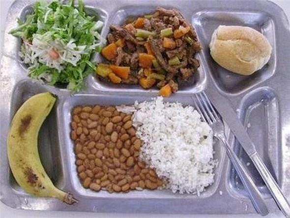 Школьные обеды в разных странах мира. Изображение № 1.