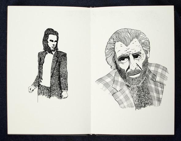 Чёрные ручки, молескин. Изображение №14.