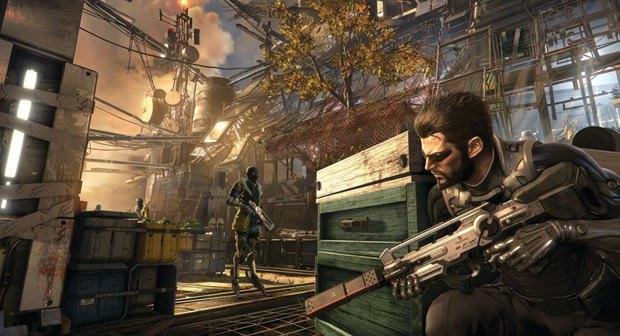 «Утекли» скриншоты неанонсированной игры Deus Ex: Mankind Divided. Изображение № 2.