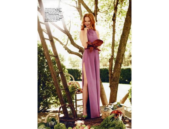 Николь Кидман в Harper's Bazaar, февраль 2011. Изображение № 36.