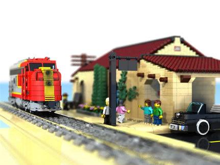 48 креативных LEGO творений. Изображение № 38.