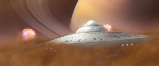 Концепт: «Энтерпрайз» 1966 года в новом «Звёздном пути». Изображение № 7.