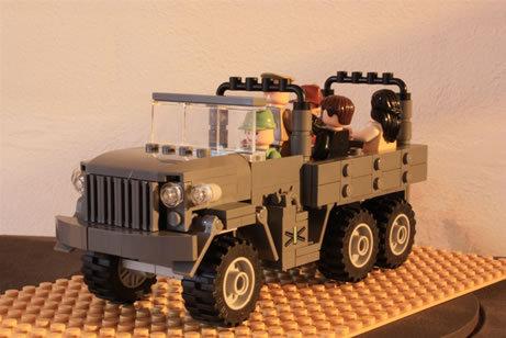 48 креативных LEGO творений. Изображение № 14.