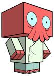 Cubeecraft бумажные герои своими руками. Изображение № 7.