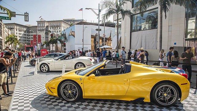 Фото: выставка суперкаров Ferrari в Беверли-Хиллз. Изображение № 8.