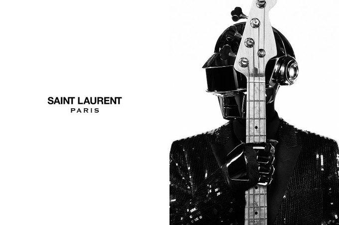 Daft Punk снялись для кампании Saint Laurent. Изображение № 3.