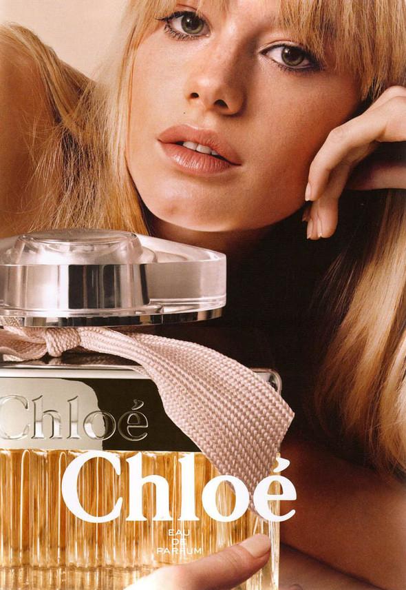 Камилле Ров и Имоджен Путс в кампании аромата Chloe. Изображение № 2.