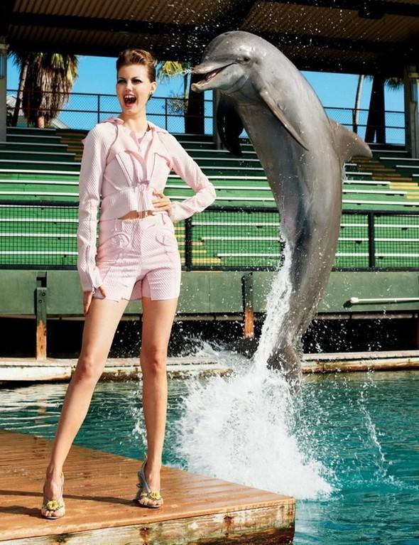 Lindsey Wixson for Harper's Bazaar Korea. Изображение № 3.