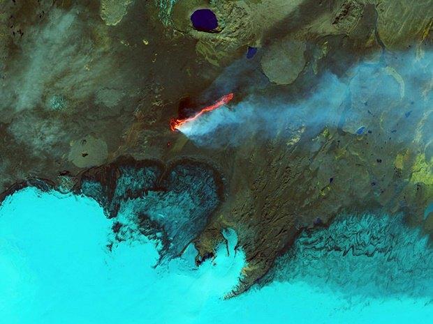 Лавовое поле Холухрейн в Исландии. Изображение № 16.