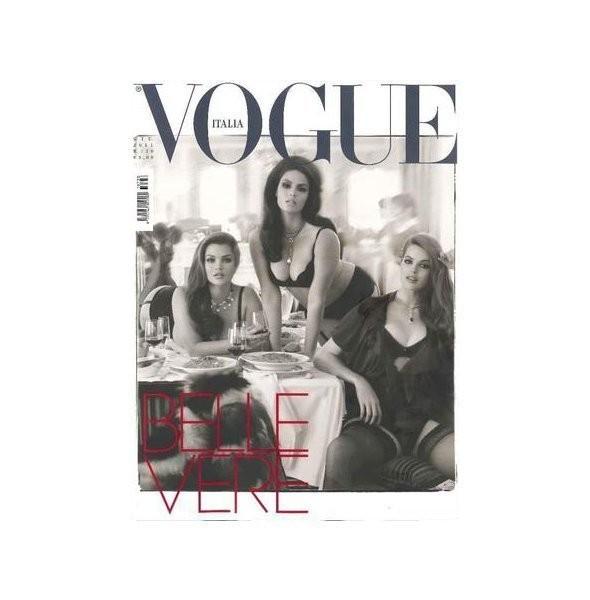 Изображение 1. Плюс-сайз модели на обложке итальянского Vogue.. Изображение № 1.