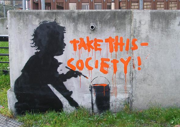 Изображение 45. Banksy (уличная мышь – герой).. Изображение № 45.