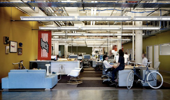 Новый офис Facebook. Изображение № 4.