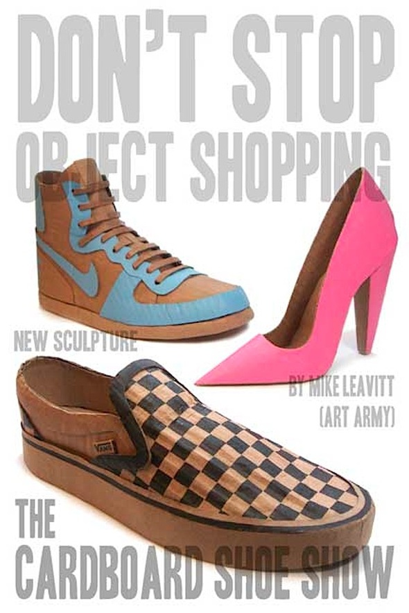The Cardboard Shoe Show by Mike Leavitt. Изображение № 1.