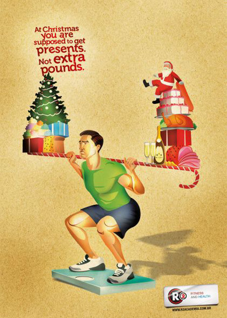 69 рождественских рекламных плакатов. Изображение № 6.