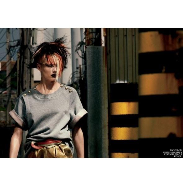 Съёмка: Кармен Педару для Interview. Изображение № 5.