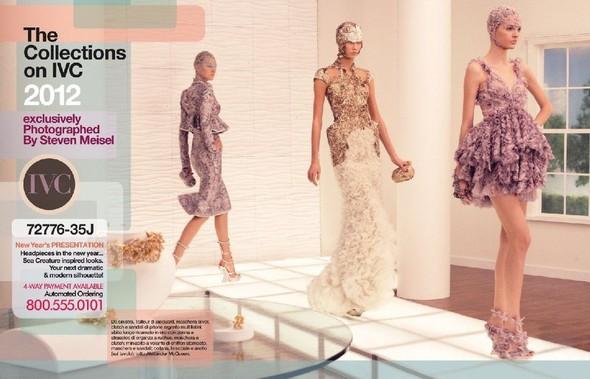 Съёмка: Дарья Строкоус, Карли Клосс, Наташа Поли и другие для итальянского Vogue. Изображение № 1.