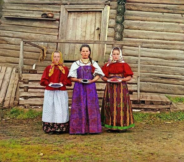Цветные фотографии России в период с 1904-1916. Изображение № 1.