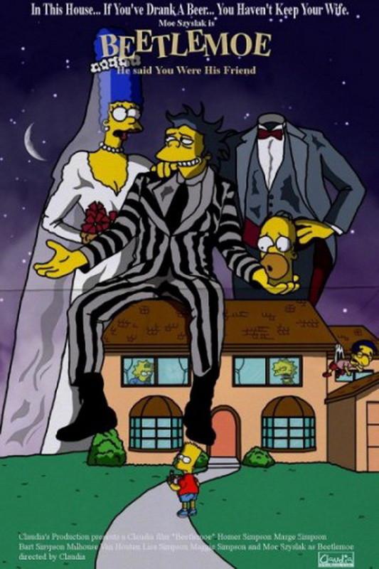 Симпсоны на киноафишах. Изображение № 8.