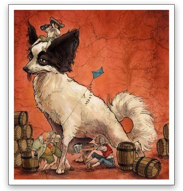 Watercolor humour. Изображение № 13.
