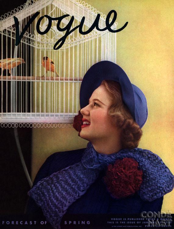 Калейдоскоп обложек Vogue. Изображение № 19.