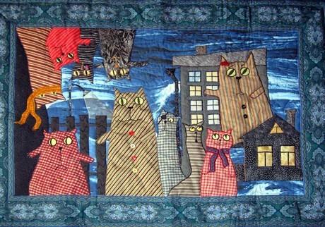 Кошки в интерьере. Изображение № 33.