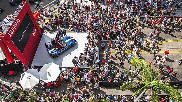 Фото: выставка суперкаров Ferrari в Беверли-Хиллз. Изображение № 15.