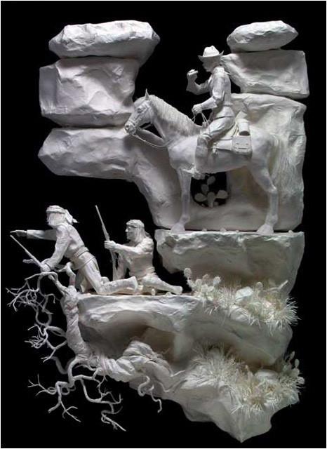 Бумажные скульптуры. Изображение № 8.