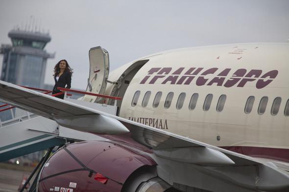"""Новый самолет Boeing 737-500 Imperial АК """"Трансаэро"""". Изображение № 1."""