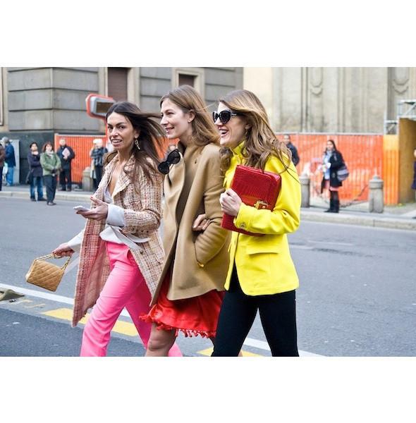 Изображение 76. На полях: 10 тенденций уличного стиля с прошедших недель моды.. Изображение № 76.