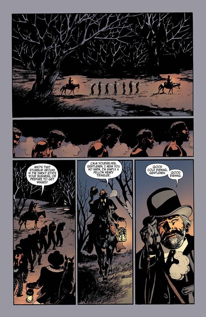 Появился комикс по «Джанго освобожденному». Изображение № 2.