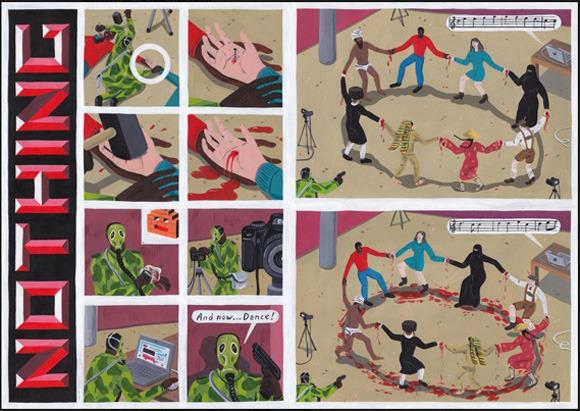 Босх 2.0: Иллюстрации-комиксы Брехта Ванденбрука. Изображение № 8.