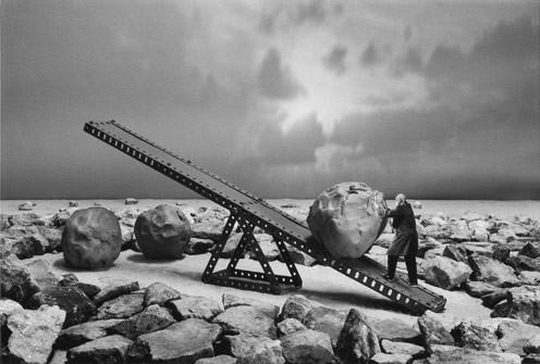 Gilbert Garcin и его честное черно-белое. Изображение № 1.