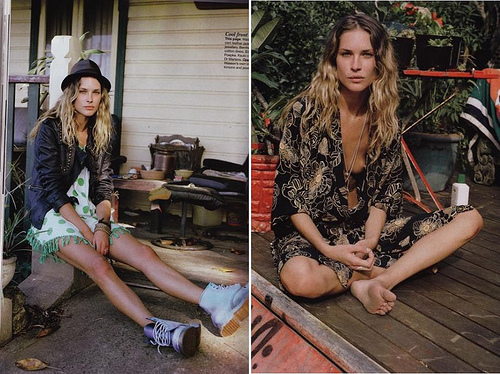 Erin Wasson&RVCA&Fashion. Изображение № 12.