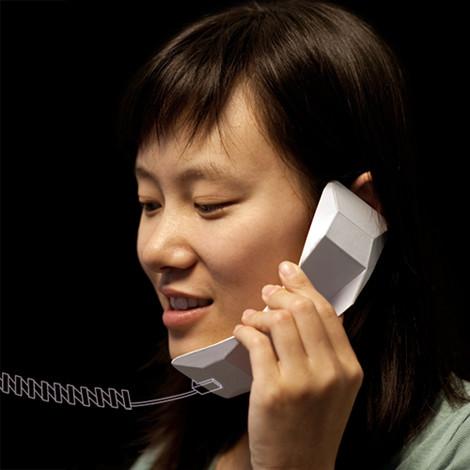 Изображение 1. Предмет: оригами-телефон Weii.. Изображение № 1.