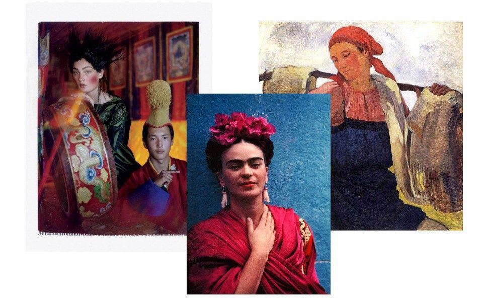 Российские крестьянки, Фрида Кало, этника . Изображение № 4.
