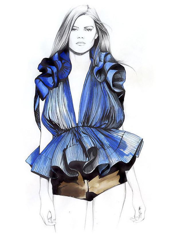 Изображение 24. Акварельные иллюстрации Caroline Andrieu.. Изображение № 24.