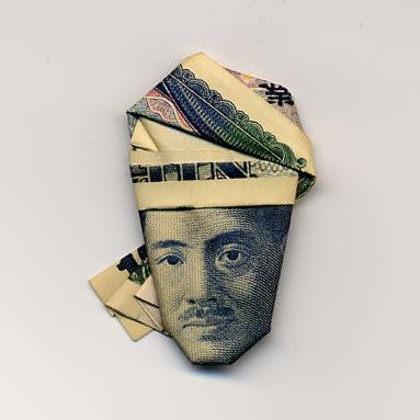 Изображение 5. Как одеть лицо на купюре в шляпу?.. Изображение № 5.