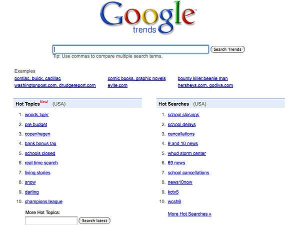 Новые «финты» поисковика Google. Изображение № 1.