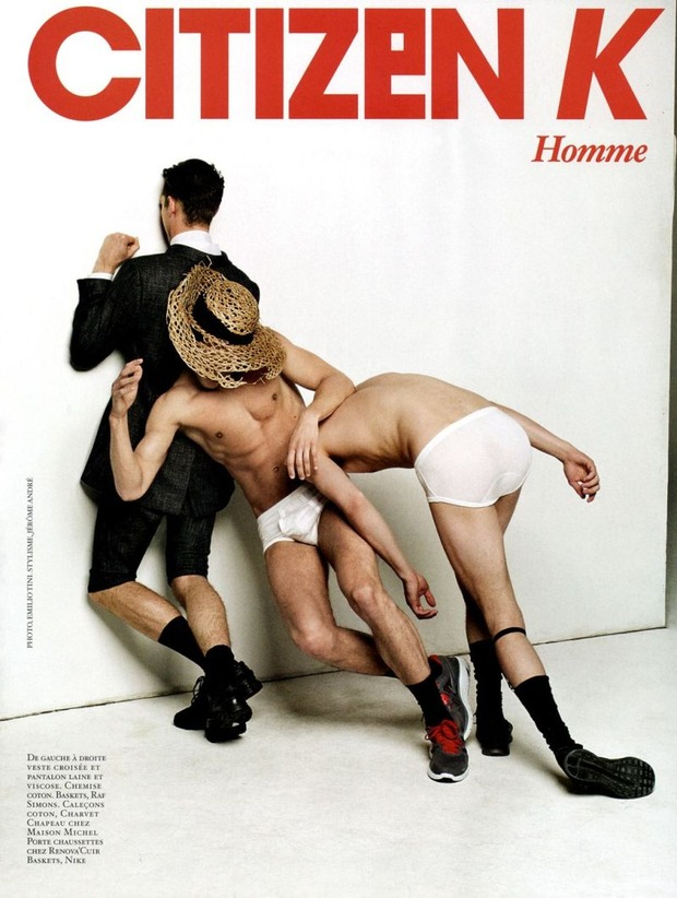 Мужские съемки: Dazed & Confused, i-D, Citizen K, Seventh Man и Men's Folio. Изображение № 32.