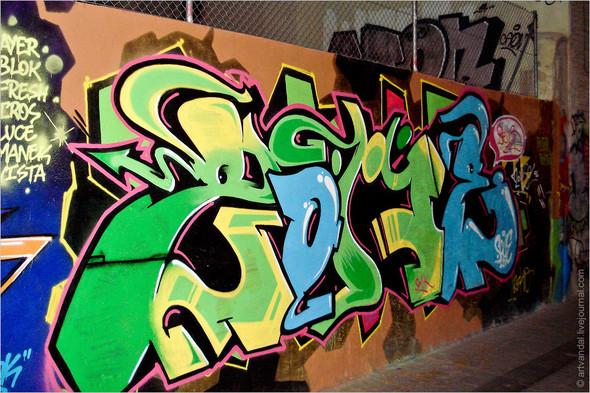 Стрит-арт и граффити Валенсии, Испания. Изображение № 31.