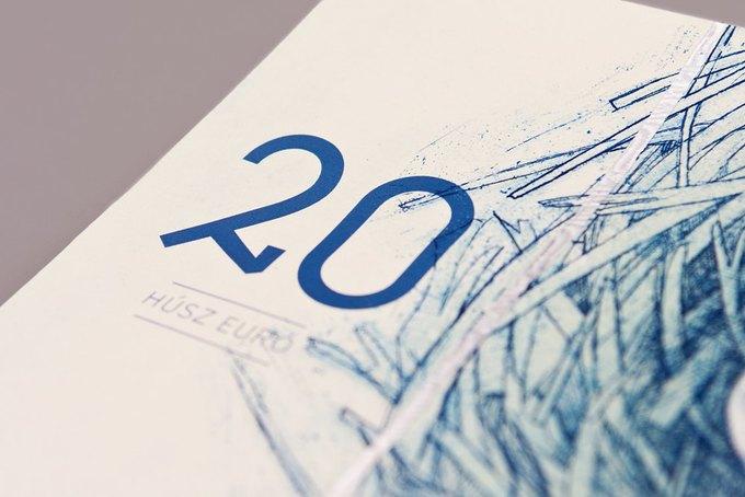 Концепт дня: банкноты несуществующих венгерских евро. Изображение № 10.